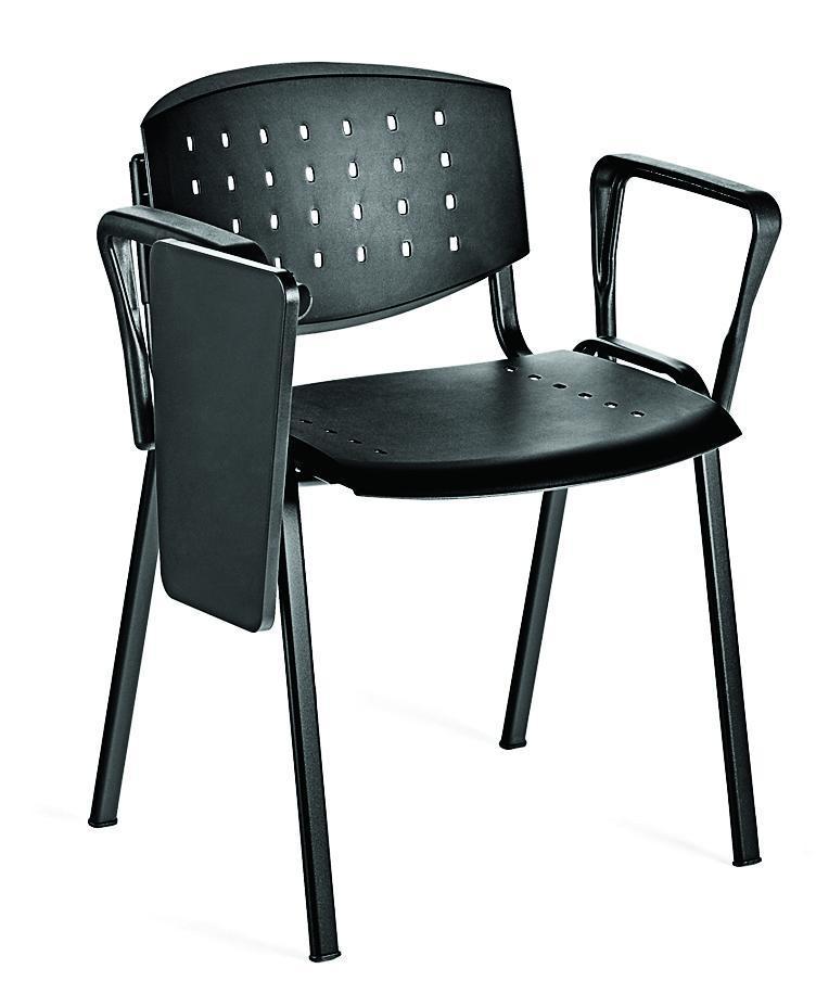 Chaise avec écritoire
