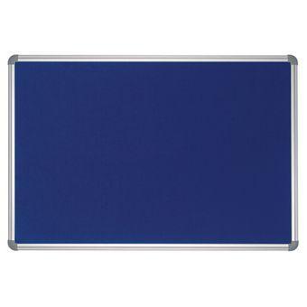 Panneau d'affichage textile Bleu